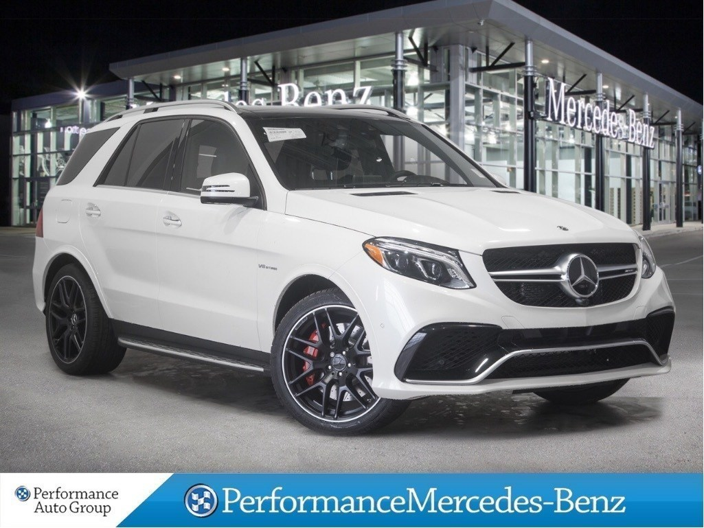 New 2018 Mercedes-Benz GLE63 AMG S 4MATIC SUV