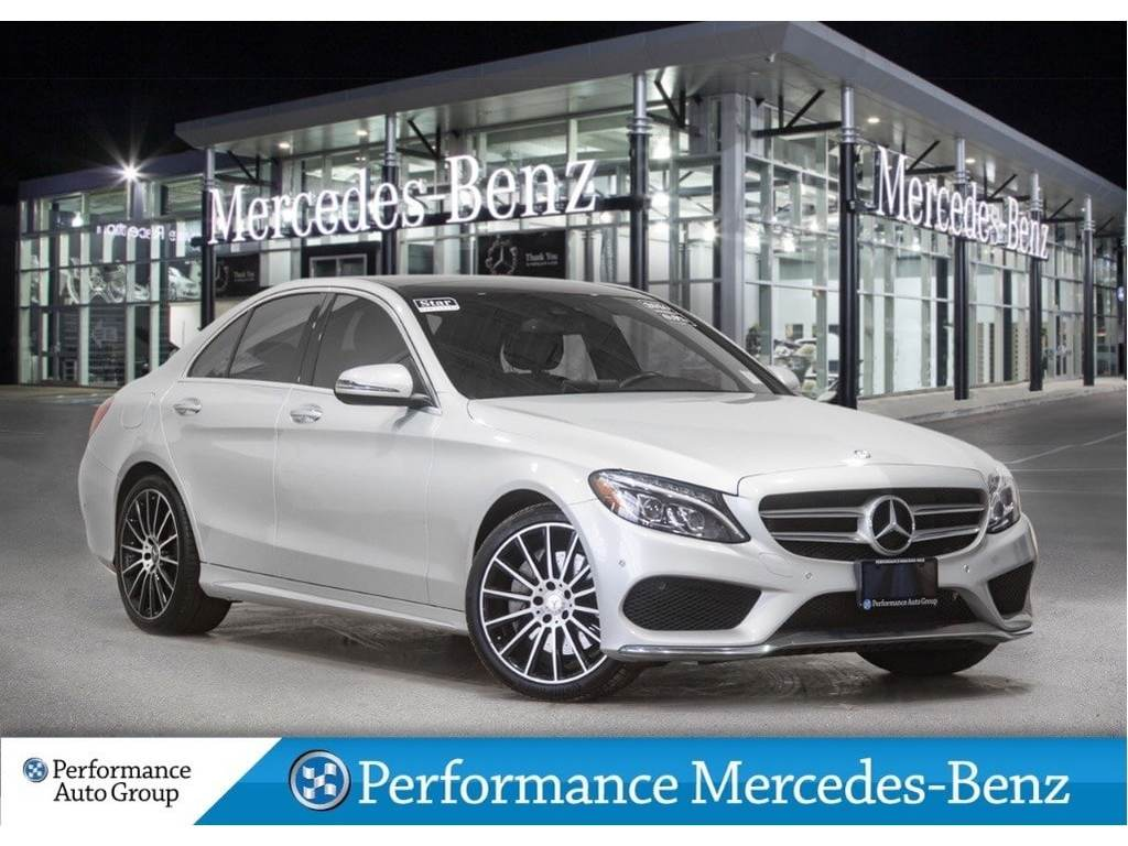 Certified Pre-Owned 2016 Mercedes-Benz C300 *NAVI+PAN SUNROOF+BLUETOOTH+CAMERA+SPORT