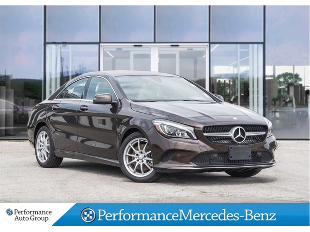 New 2017 mercedes benz cla cla250 coupe in st catharines for Mercedes benz st catharines