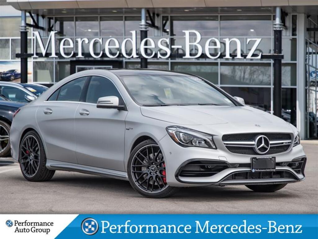 Demo 2019 Mercedes-Benz CLA45 AMG 4MATIC Coupe