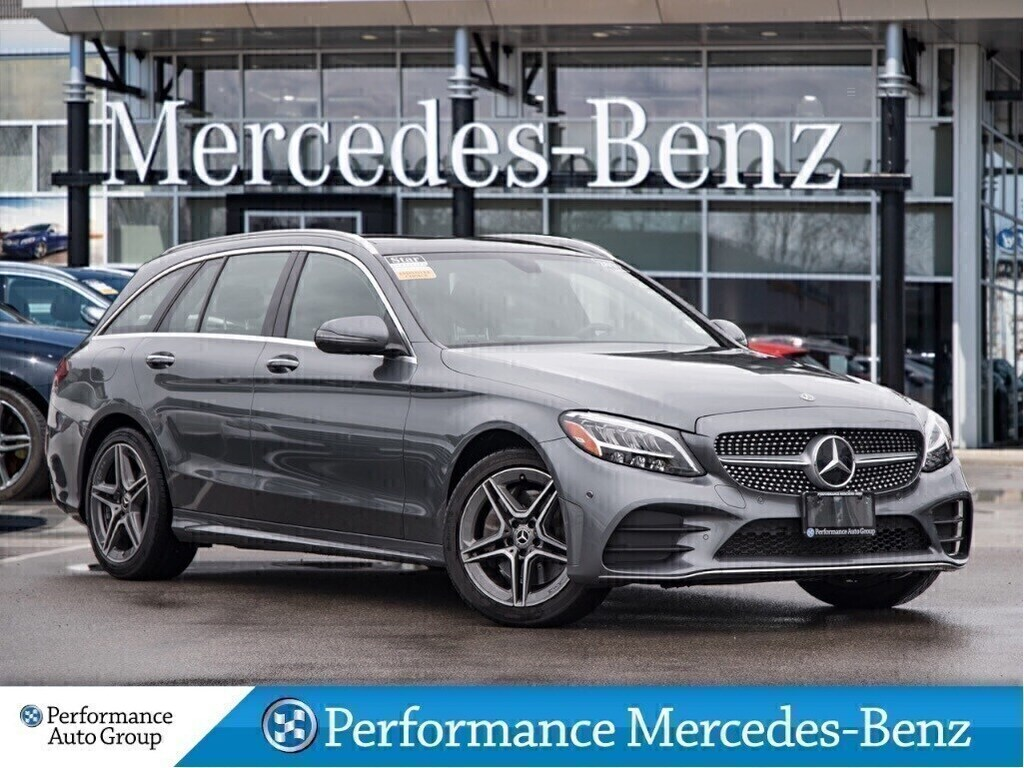 Certified Pre-Owned 2019 Mercedes-Benz C300 4MATIC Wagon