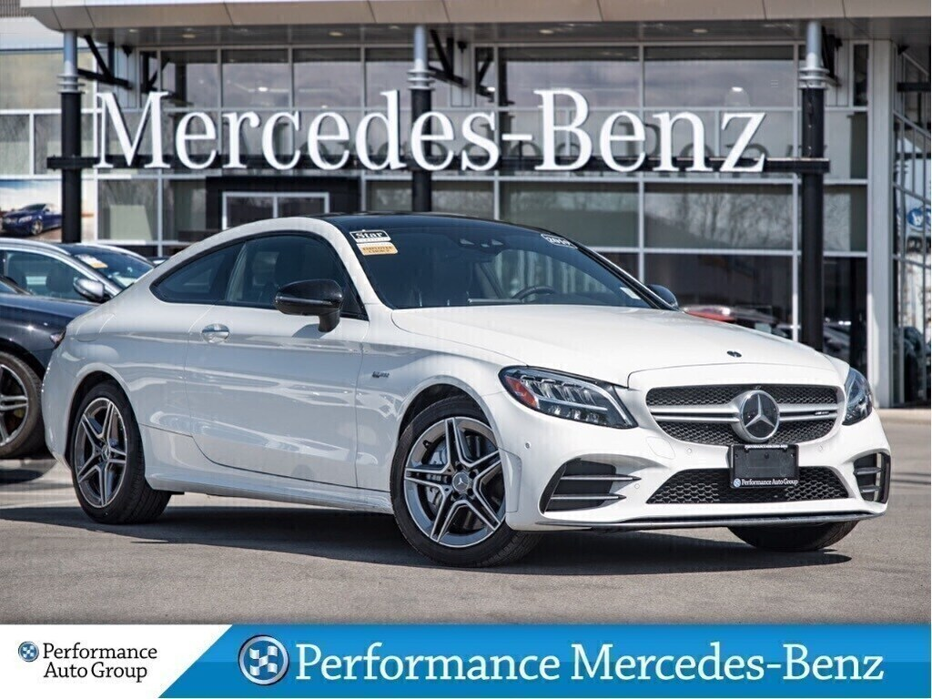 Certified Pre-Owned 2019 Mercedes-Benz C43 AMG 4MATIC Coupe 4MATIC+Nav+Sunroof+CarPlay+Semi-Auton
