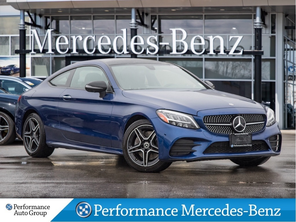 Demo 2019 Mercedes-Benz C300 4MATIC Coupe