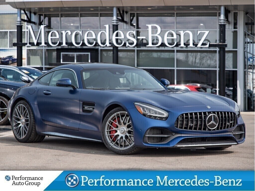 New 2020 Mercedes-Benz AMG GT C Coupe