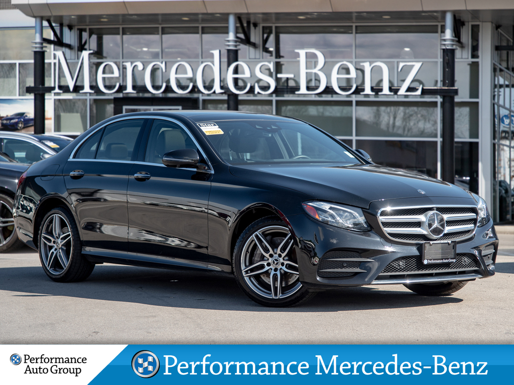 Certified Pre Owned 2020 Mercedes Benz E350 4matic Sedan 4 Door Sedan In St Catharines 30ec543 Performance Mercedes Benz