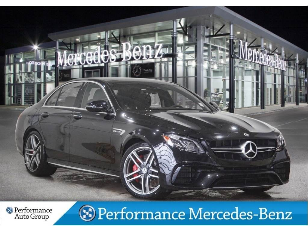 New 2019 Mercedes-Benz E63 AMG S 4MATIC+ Sedan