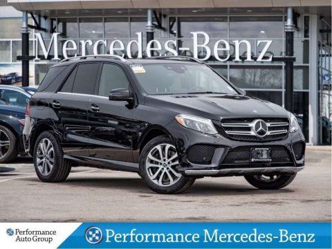 Certified Pre-Owned 2018 Mercedes-Benz GLE400 4MATIC SUV