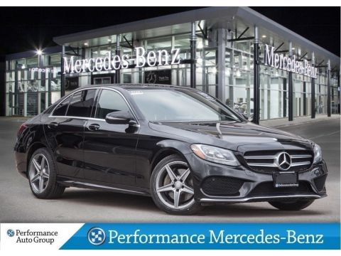 Certified Pre-Owned 2016 Mercedes-Benz C300 *NAVI+SPORT+PANO SUNROOF+BLUETOOTH