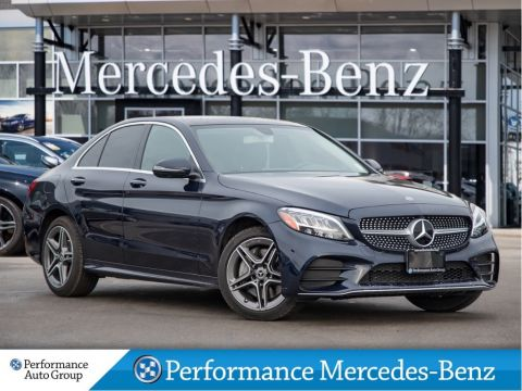 Certified Pre-Owned 2020 Mercedes-Benz C300 4MATIC Sedan