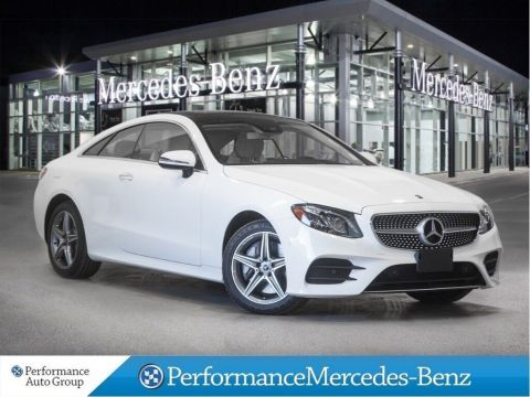 New 2018 Mercedes-Benz E400 4MATIC Coupe