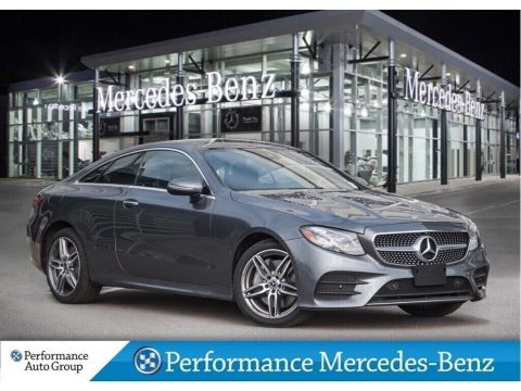 New 2019 Mercedes-Benz E450 4MATIC Coupe
