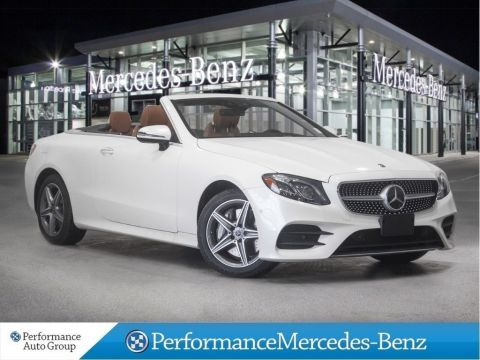 Certified Pre-Owned 2018 Mercedes-Benz E400 4MATIC CABRIO*DEMO*SEMI-AUTONOMOUS+NAVI+LEDs