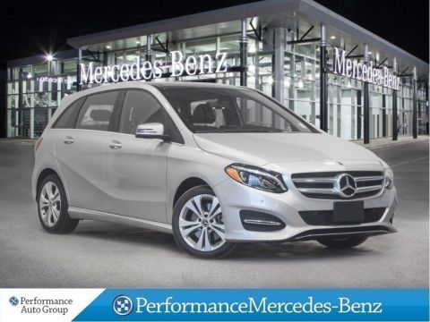 Certified Pre-Owned 2018 Mercedes-Benz B250 4Matic / Navigation / Active Parking
