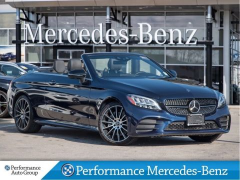 Demo 2019 Mercedes-Benz C300 4MATIC Cabriolet