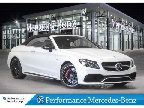 New 2018 Mercedes-Benz C63 S AMG Cabriolet