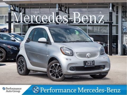 Certified Pre-Owned 2016 smart fortwo passion cpé